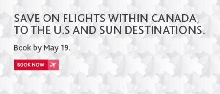 Air Canada Canada, US and Sun Destination Seat Sale (Book by May 19)