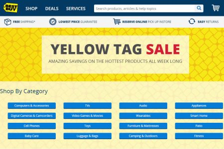 Best Buy Yellow Tag Sale (May 20-26)