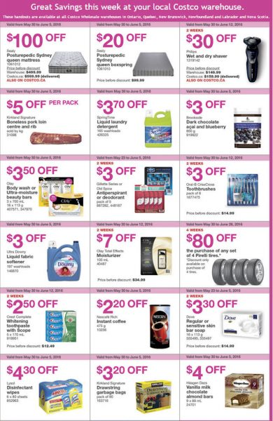 Costco Weekly Handout Instant Savings East Coupons (May 30 - Jun 5)