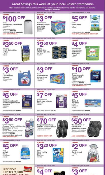 Costco Weekly Handout Instant Savings West Coupons (May 16-22)