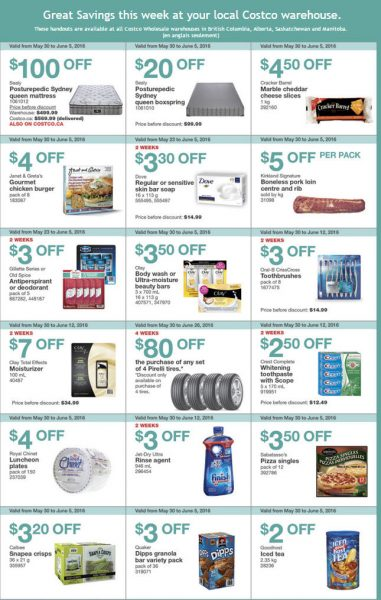 Costco Weekly Handout Instant Savings West Coupons (May 30 - Jun 5)