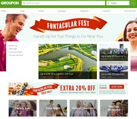 GROUPON Today Only - Extra 20 Off Things To Do Deals Promo Code (May 12)