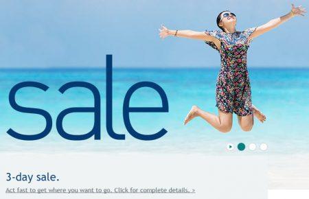 WestJet 3-Day Seat Sale (May 17-19)