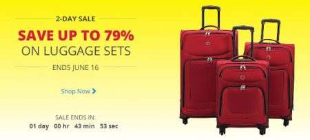 Best Buy Save up to 79 Off Luggage Sets (June 15-16)