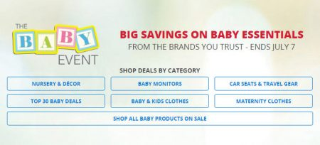 Best Buy The Baby Event (Until July 7)