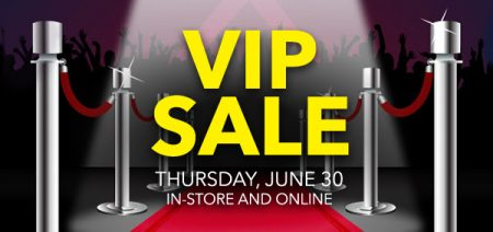 Best Buy VIP Sale In-Store and Online (June 30)