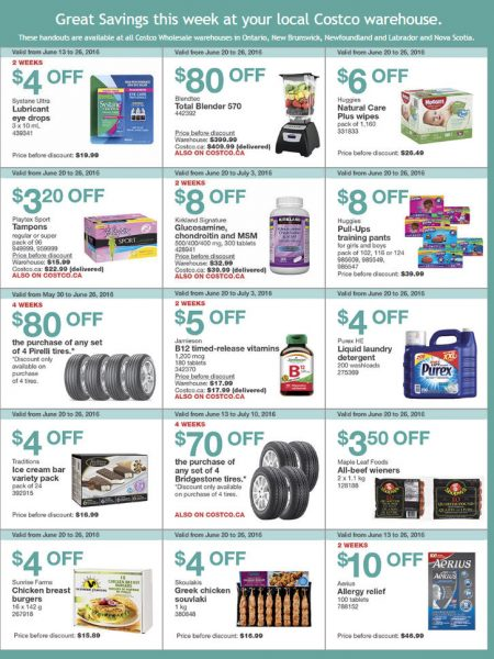 Costco In Store Black Friday Specials >> Costco: Weekly Handout Instant Savings East Coupons (June 20-26) - Ottawa Deals Blog