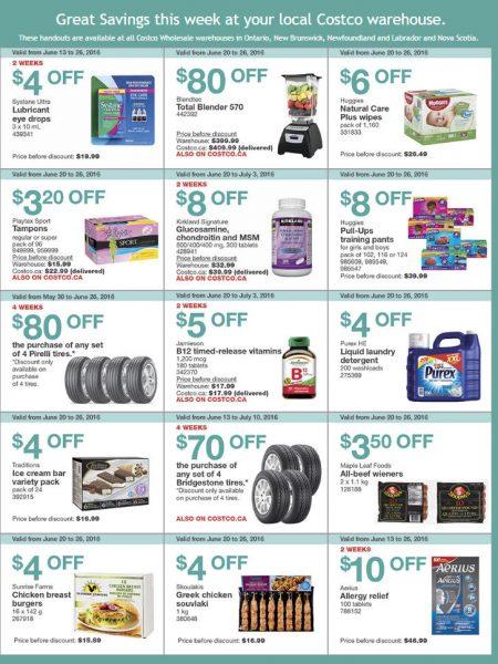 Costco Weekly Handout Instant Savings East Coupons (June 20-26)