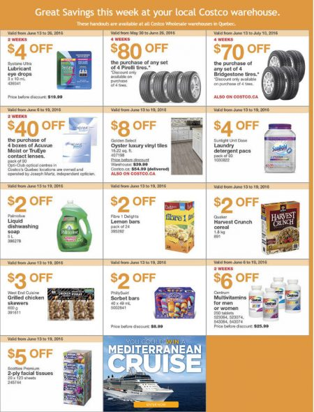Costco Weekly Handout Instant Savings Quebec Coupons (June 13-19)