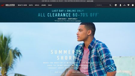 Hollister Co All Clearance 60-70 Off (June 23-24)