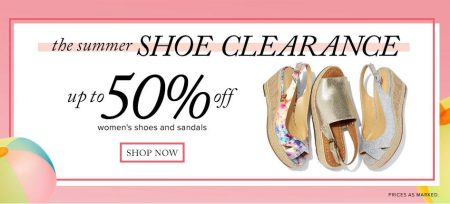 Hudson's Bay Summer Shoe Clearance - Up to 50 Off Women's Shoes and Sandals