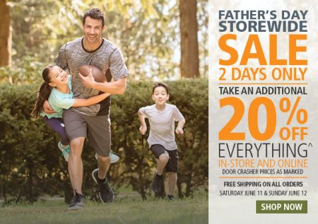 Mark's Father's Day Sale - 20 Off Everything + Free Shipping All Orders (June 11-12)
