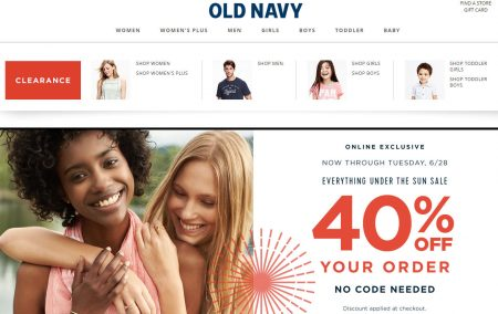 Old Navy's been providing stylish clothing options at wonderfully affordable prices since As part of the Gap family, it's known for its selection of casual, fashion-forward apparel, jewelry, bags and accessories, all available for great deals. Check out Old Navy coupons and promo codes to .