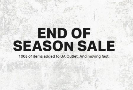 Under Armour End of Season Sale