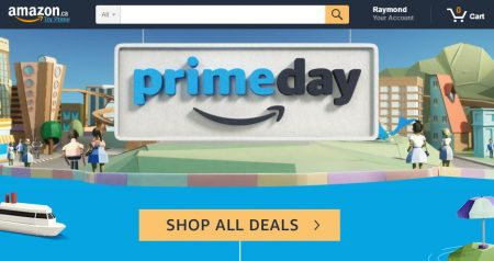 Amazon.ca Prime Day Sales Event (July 12)
