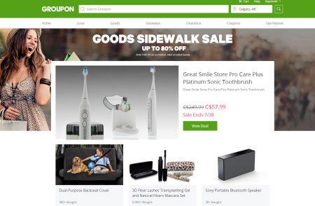 GROUPON Goods Sidewalk Sale - Up to 80 Off (July 27-28)