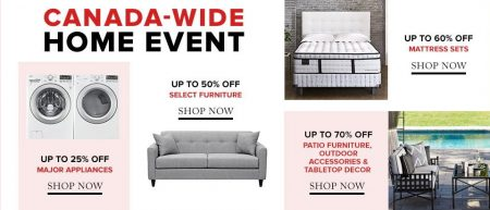 Hudson's Bay Home Event - Save up to 70 Off