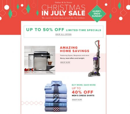 Hudson's Bay Today Only - Up to 40 Off Men's Dress Shirts, Up to 40 Off Baby & Kid's Clothing (July 15)