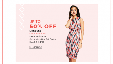 Hudson's Bay Today Only - Up to 50 Off Dresses (July 16)