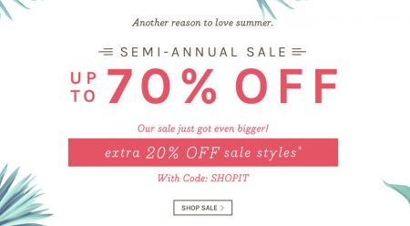Naturalizer Semi Annual Sale - Save up to 70 Off + Extra 20 Off Promo Code