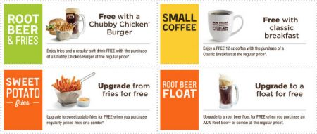A&W Canada New Printable Coupons + Free Root Beer Coupon (Until Aug 14)