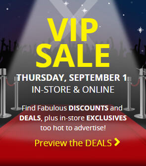 Best Buy VIP Sale (Sept 1)