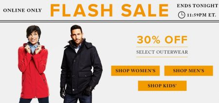 Hudson's Bay Flash Sale - 30 Off Outerwear (Aug 31)