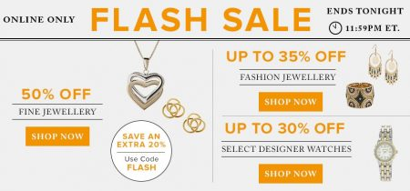 Hudson's Bay Flash Sale - 50 Off Fine Jewellery, Up to 30 Off Designer Watches (Aug 7)