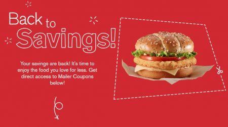 McDonald's New McDonalds Coupons (Aug 30 - Oct 9)