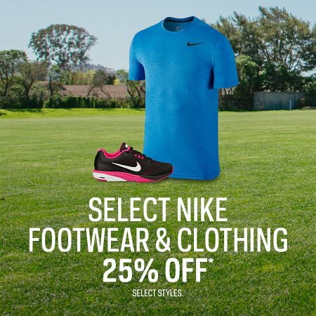 Sport Chek 25 Off Select Nike Footwear and Clothing (Until Aug 17)
