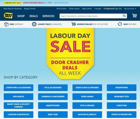 Best Buy Labour Day Sale - Door Crasher Deals All Week