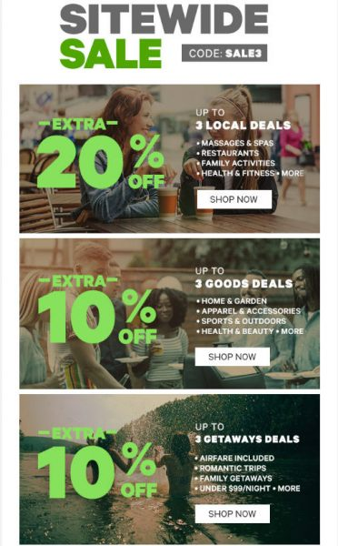Groupon Sitewide Sale Up To Extra 20 Off Promo Code Mar 29 Just Vegas Deals