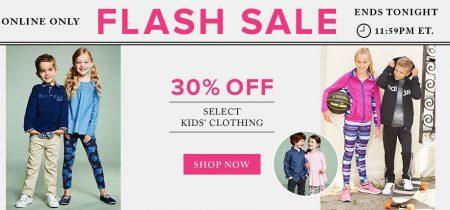 thebay-flash-sale-30-off-kids-clothing-sept-11