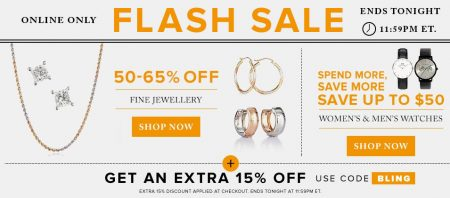 thebay-flash-sale-save-50-65-off-fine-jewellery-up-to-50-off-watches-extra-15-off-promo-code-sept-18