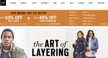 gap-up-to-50-off-fall-sale-extra-40-off-promo-code-oct-9-10