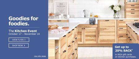 Ikea Kitchen Event Get Up To 20 Back In Ikea Gift