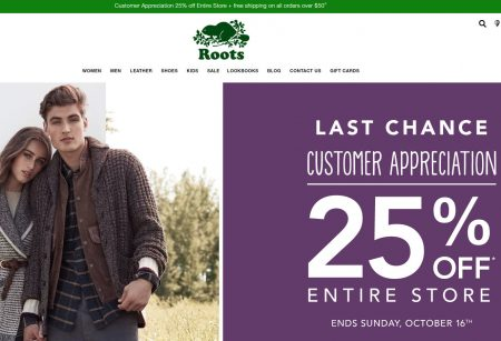 roots-canada-customer-appreciation-25-off-sitewide-oct-14-16