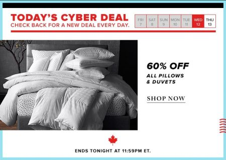 thebay-todays-cyber-deal-60-off-all-pillows-and-duvets-oct-12