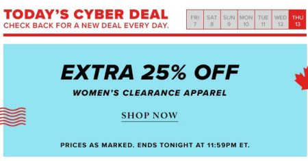 thebay-todays-cyber-deal-extra-25-off-womens-clearance-apparel-oct-13