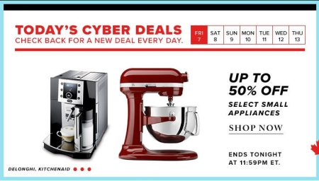 thebay-com-todays-cyber-deal-up-to-50-off-small-appliances-oct-7