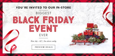 Chapters indigo biggest black friday event ever nov 24 for Las vegas hotels black friday deals