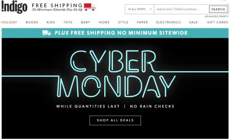 chapters-indigo-cyber-monday-sale-free-shipping-all-orders-nov-28-29