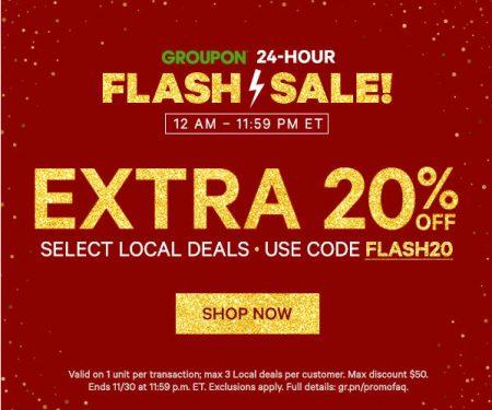 groupon-flash-sale-extra-20-off-local-deals-promo-code-nov-30