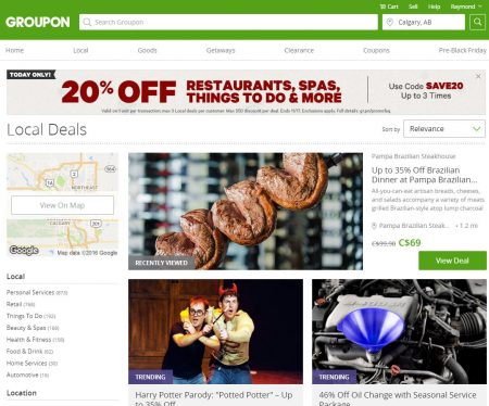 Groupon local coupon code