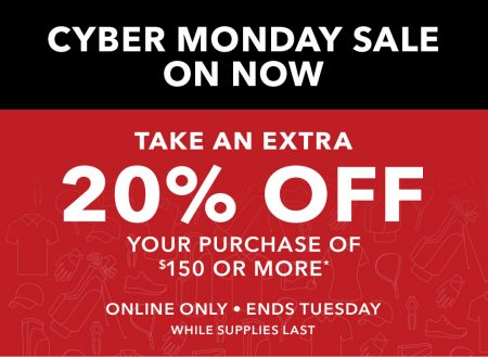 golf-town-cyber-monday-extra-20-off-purchase-of-150-free-shipping-nov-28-29