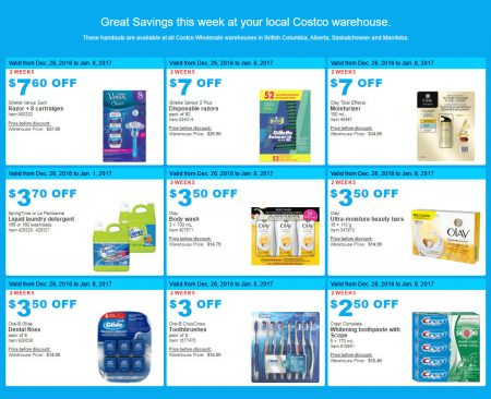 Costco: Weekly Handout Instant Savings West Coupons (Dec ...