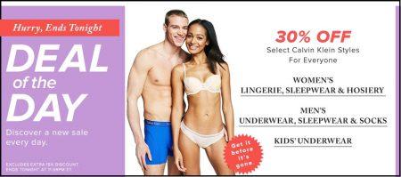 7031a58c6b46 Hudson's Bay: Deal of the Day – 30% Off Calvin Klein Underwear, Sleepwear &  Socks (Feb 10)