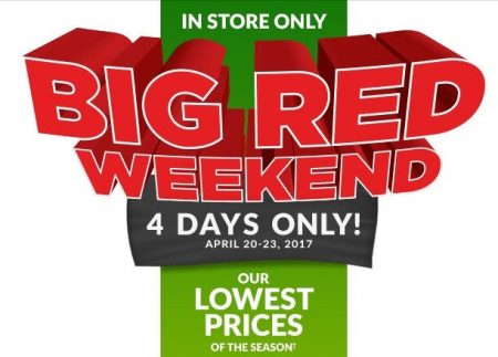Canadian Tire Big Red Weekend Apr 20 23 Montreal Deals Blog