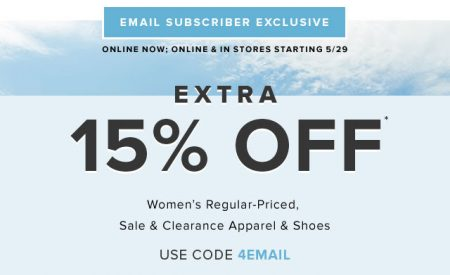 Hudson S Bay Extra 15 Off Women S Apparel Shoes Promo Code May 29 June 1 Canada Deals Blog