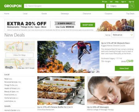 groupon vacation packages
